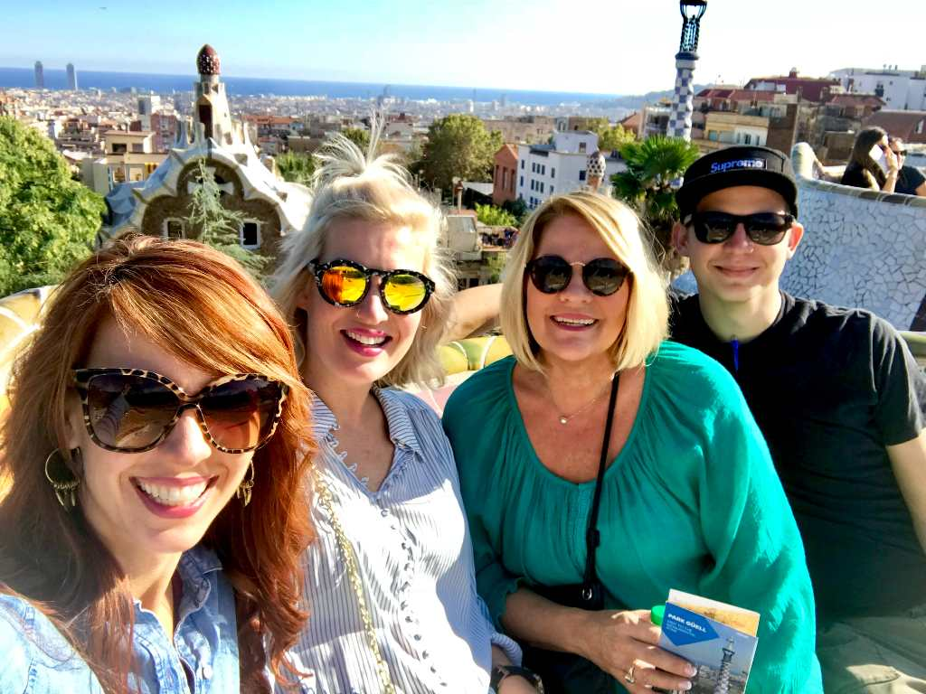family travel in Spain