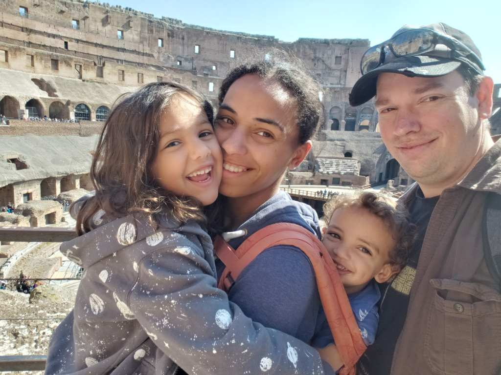 Member Jade D. took her family to Rome for $400 roundtrip per person