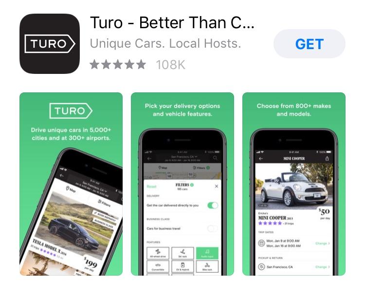 Turo app