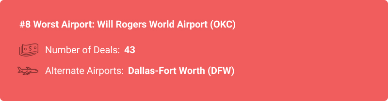stats about OKC airport