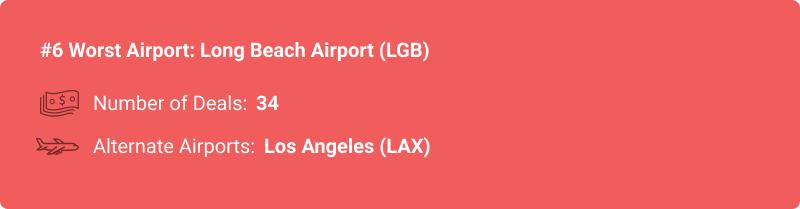 statistiques sur l'aéroport LGB