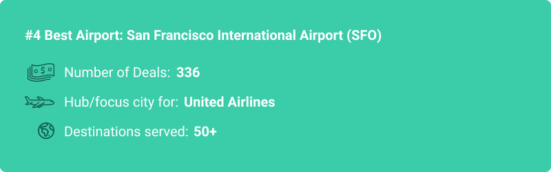 stats about SFO airport