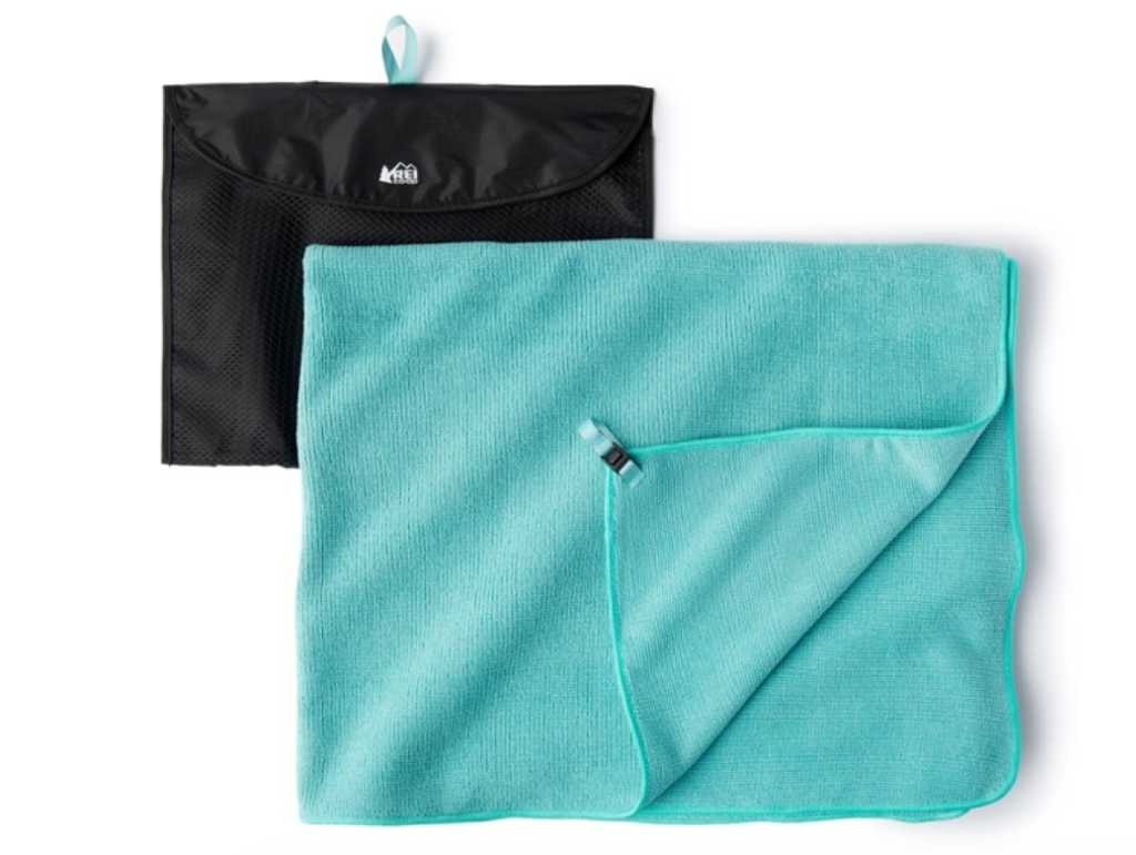 Microfiber towels from REI