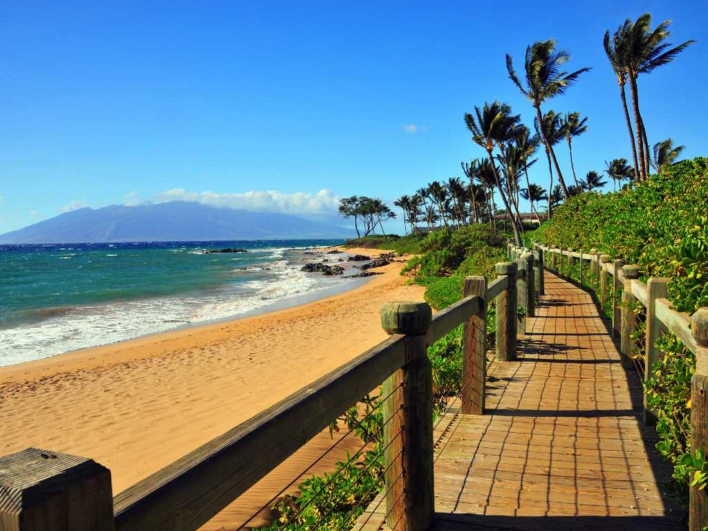 Wailea Beach Pathway, Maui Hawaii