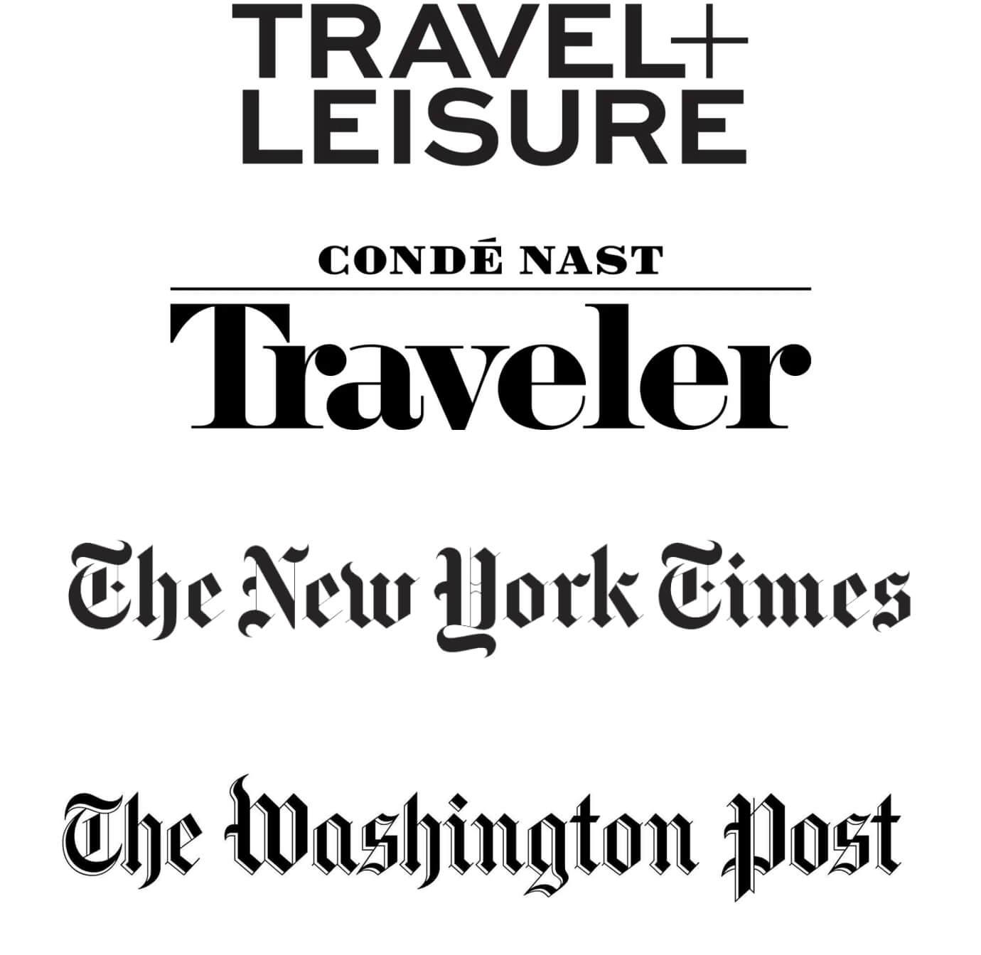 Image of media website logos
