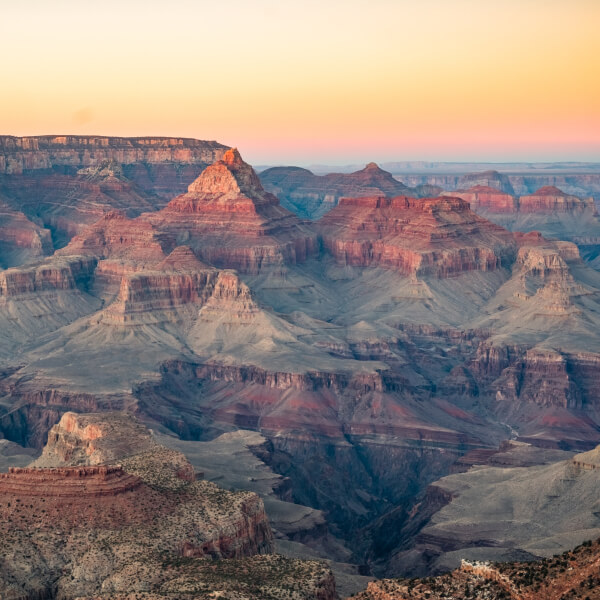 landscape image of the grand canyon