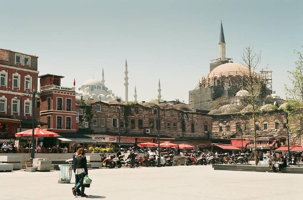 Istanbul neighborhood.