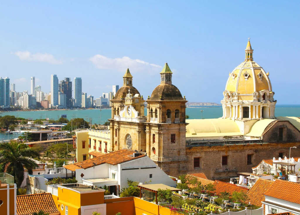 view of Cartagena