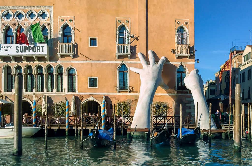 art instillation in Venice.