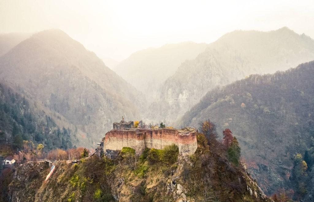 Dracula's castle,  Transylvania.