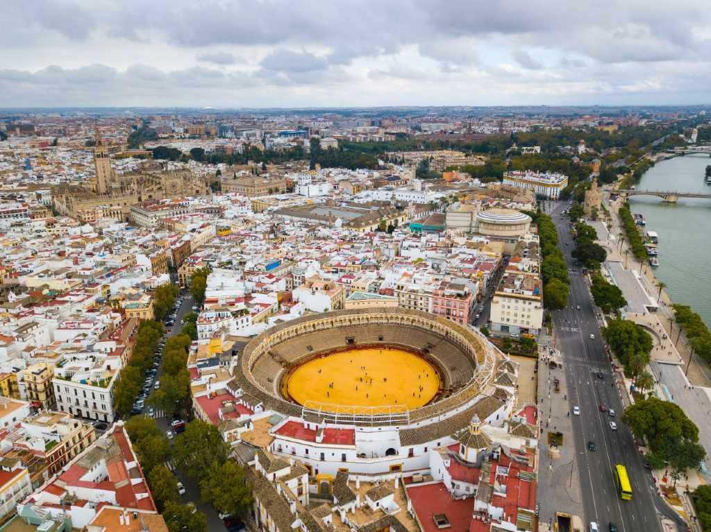 bullring in Seville.