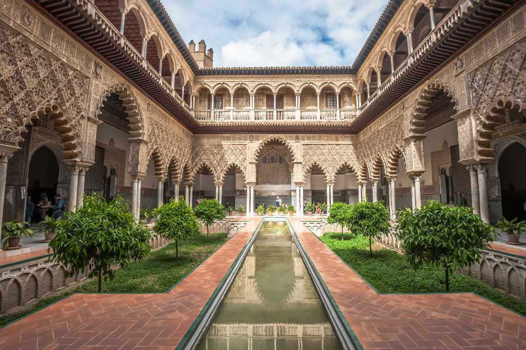 Royal Alcazar in Seville.