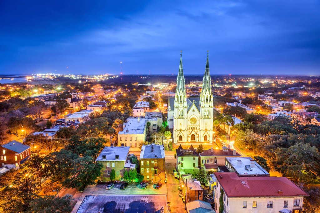 view of Savannah.