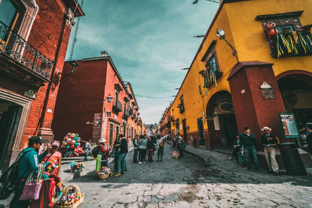 street in San Miguel.