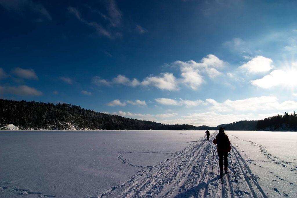 skiiing near Oslo.
