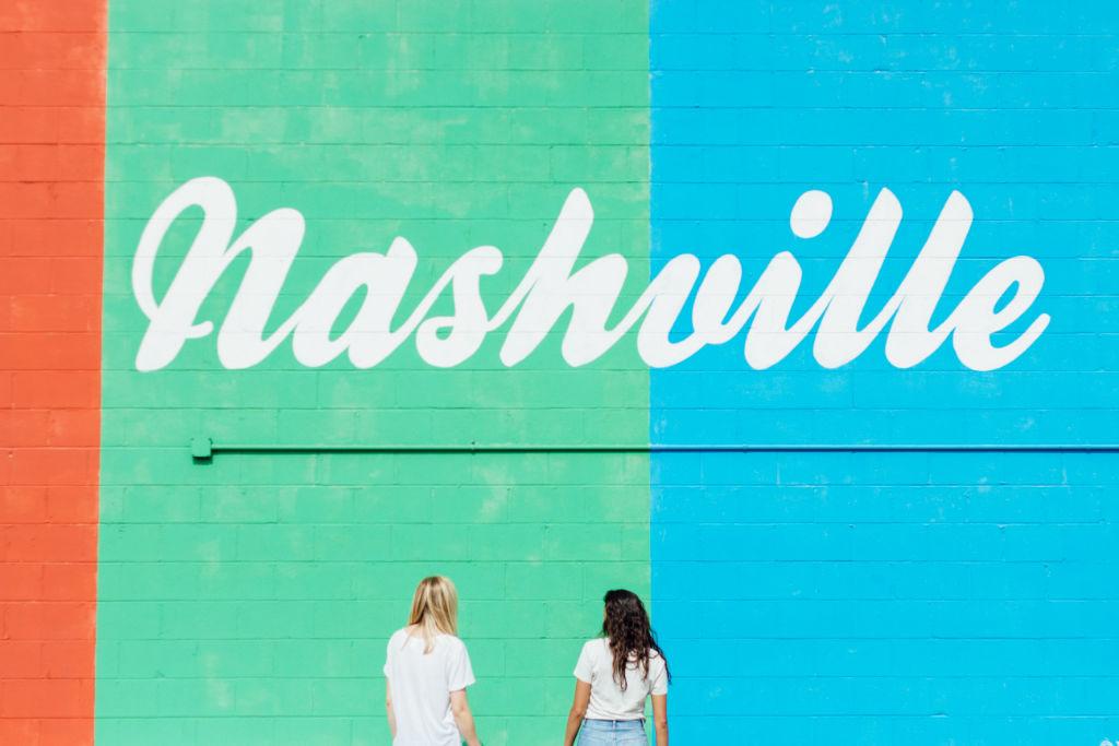 mural in Nashville.
