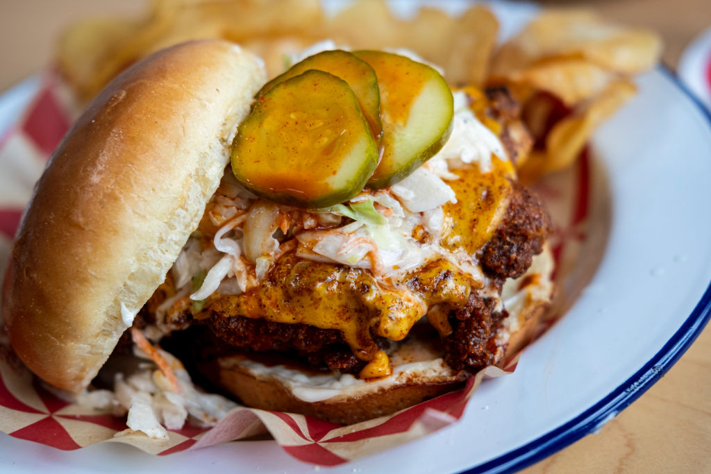 Nashville hot chicken.
