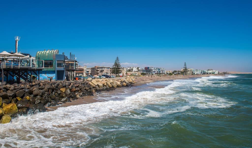 coastal town in Namibia.