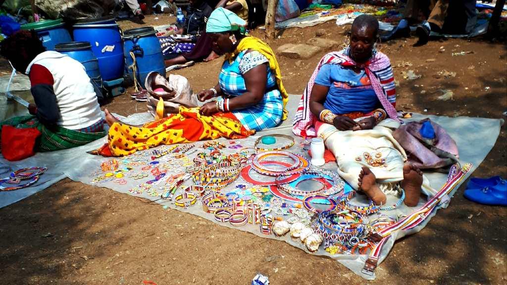 market in Nairobi.