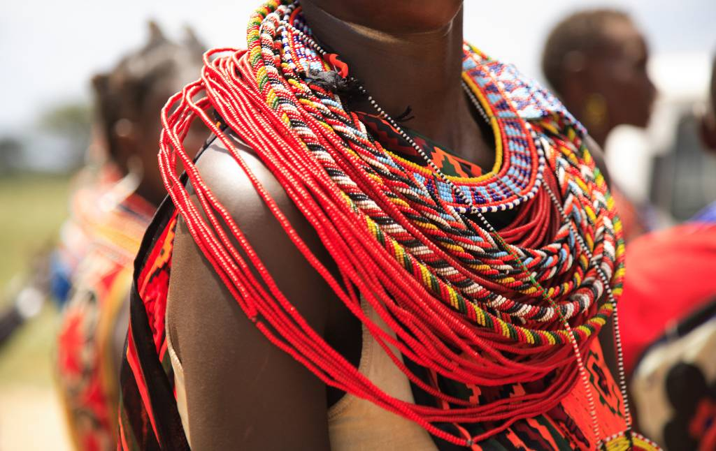 traditional jewelry.