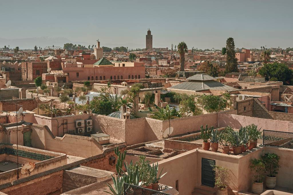 marrakesh from above.