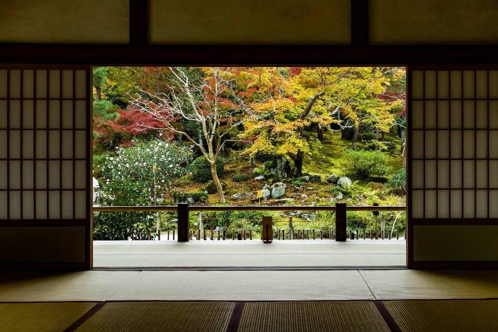 garden in Kyoto.