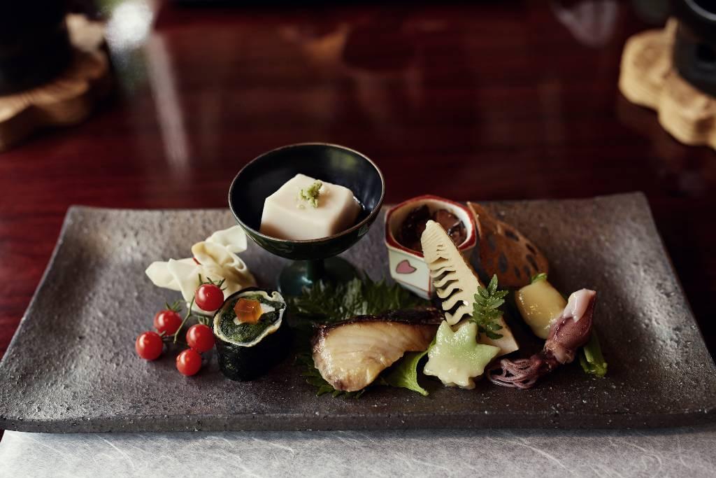 seasonal food in Kyoto.