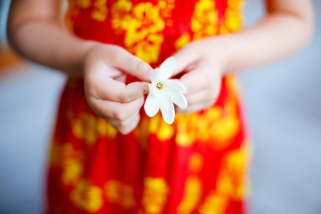 Tahitian flower