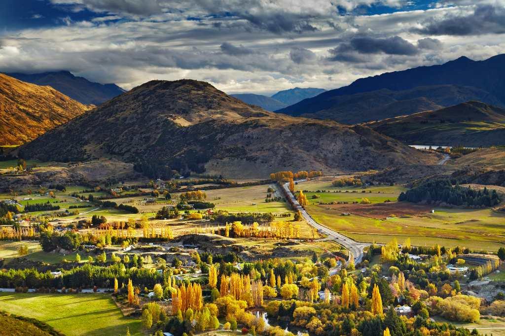 autumn in Central Otago.