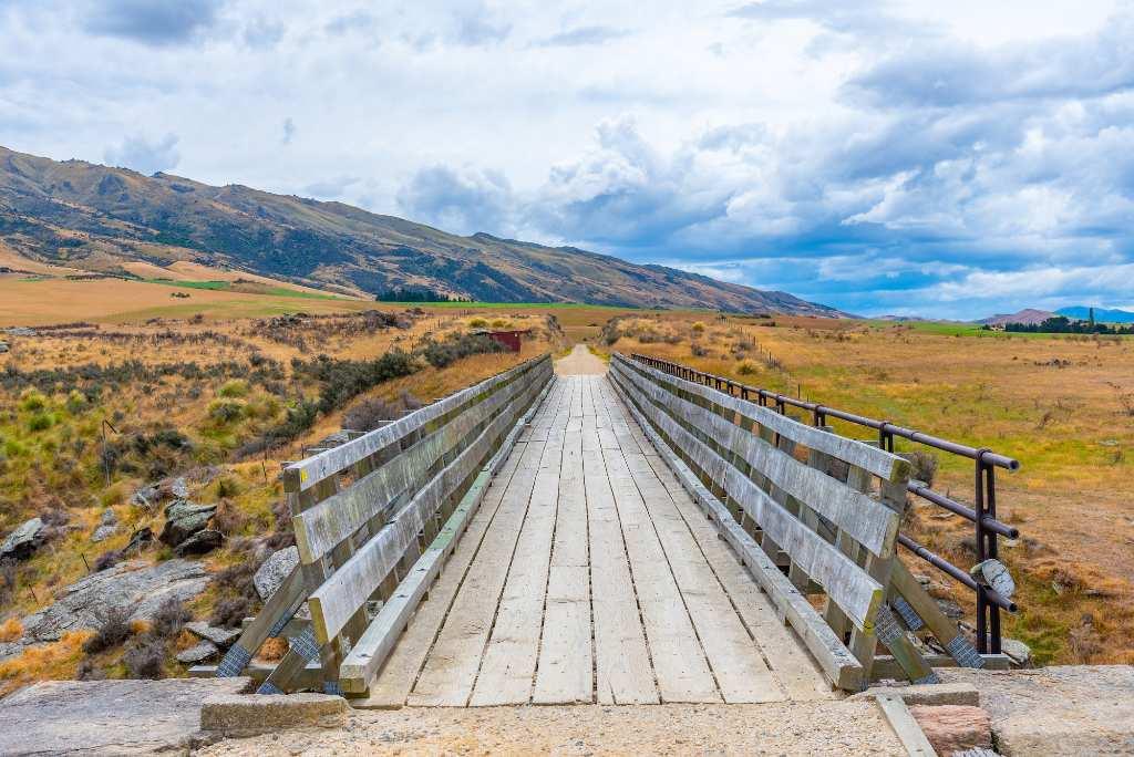 Central Otago Rail Trail.
