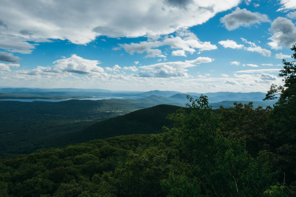mountains in the Catskills.