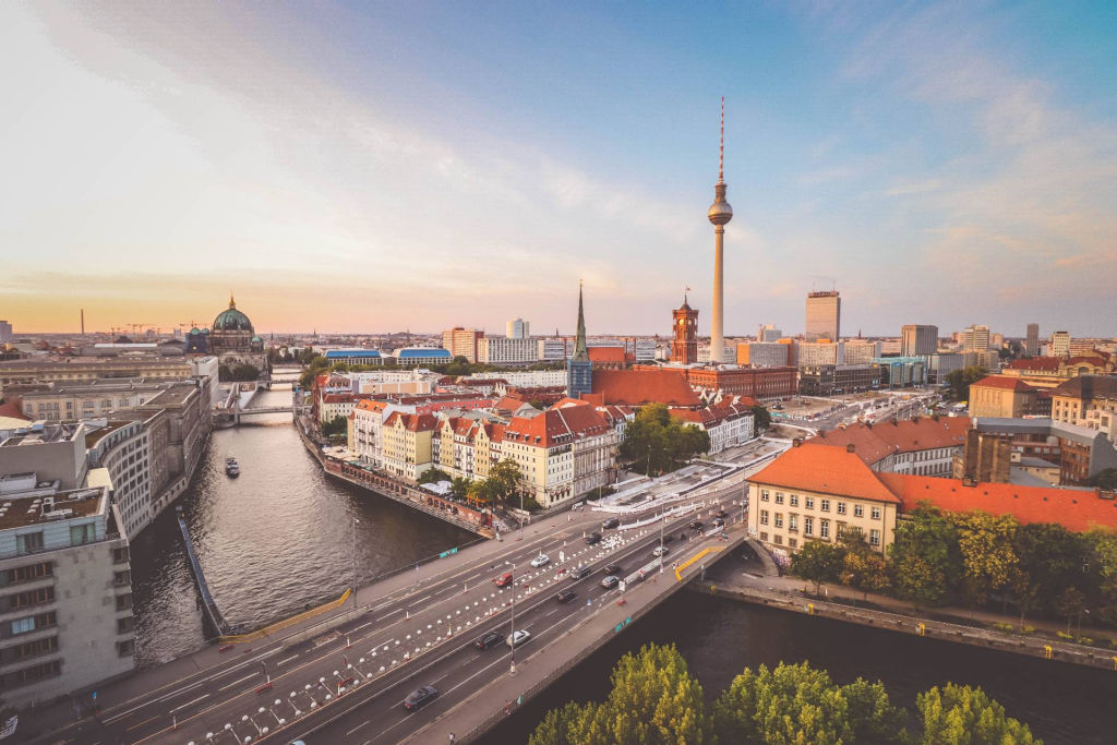 Berlin from above.