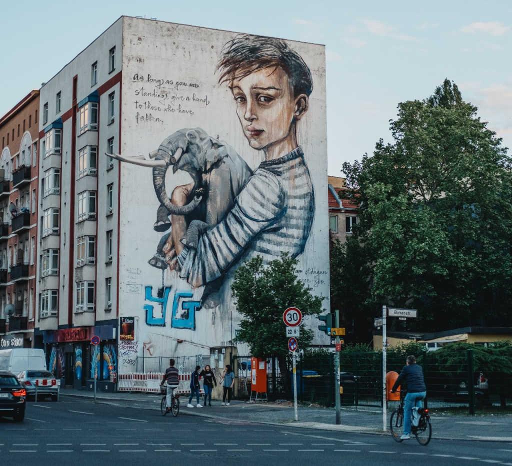 street art in Berlin.