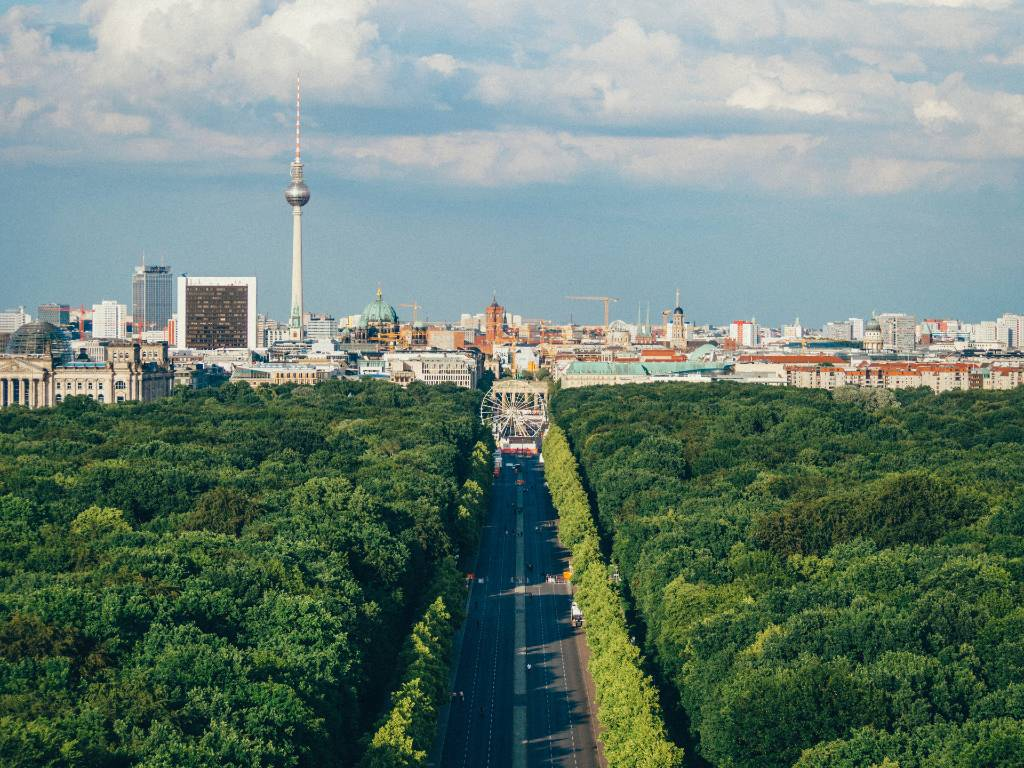 Berlin park.