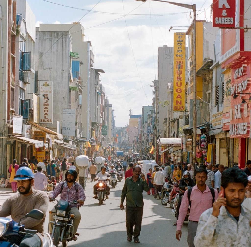 street in Bengaluru.