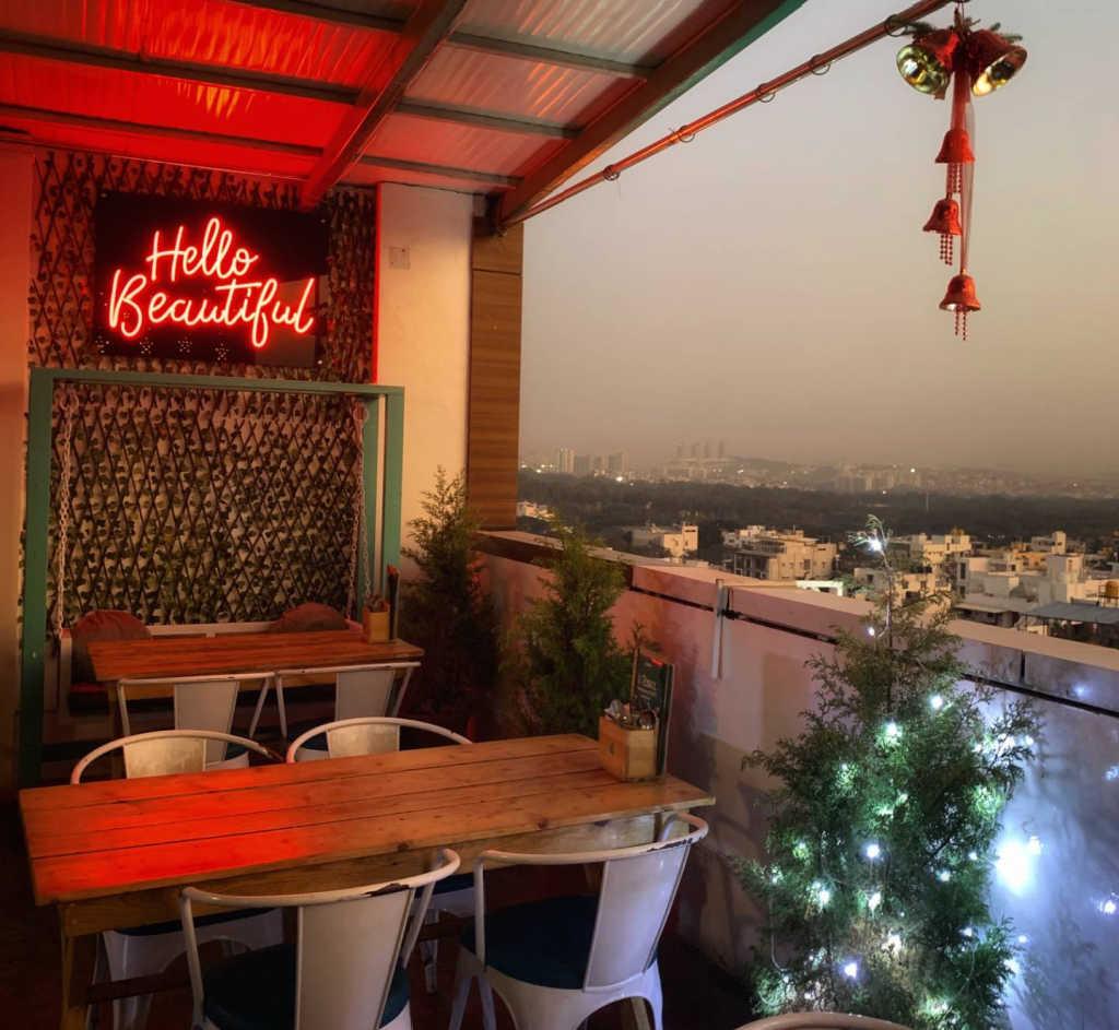 rooftop bar in Bengaluru.