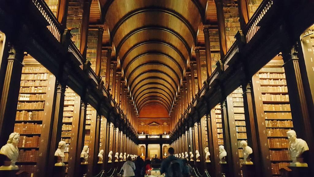 Trinity Library, Dublin.