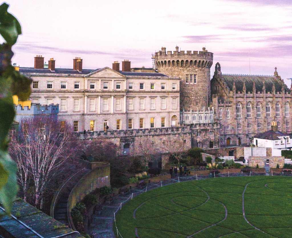 Dublin castle.
