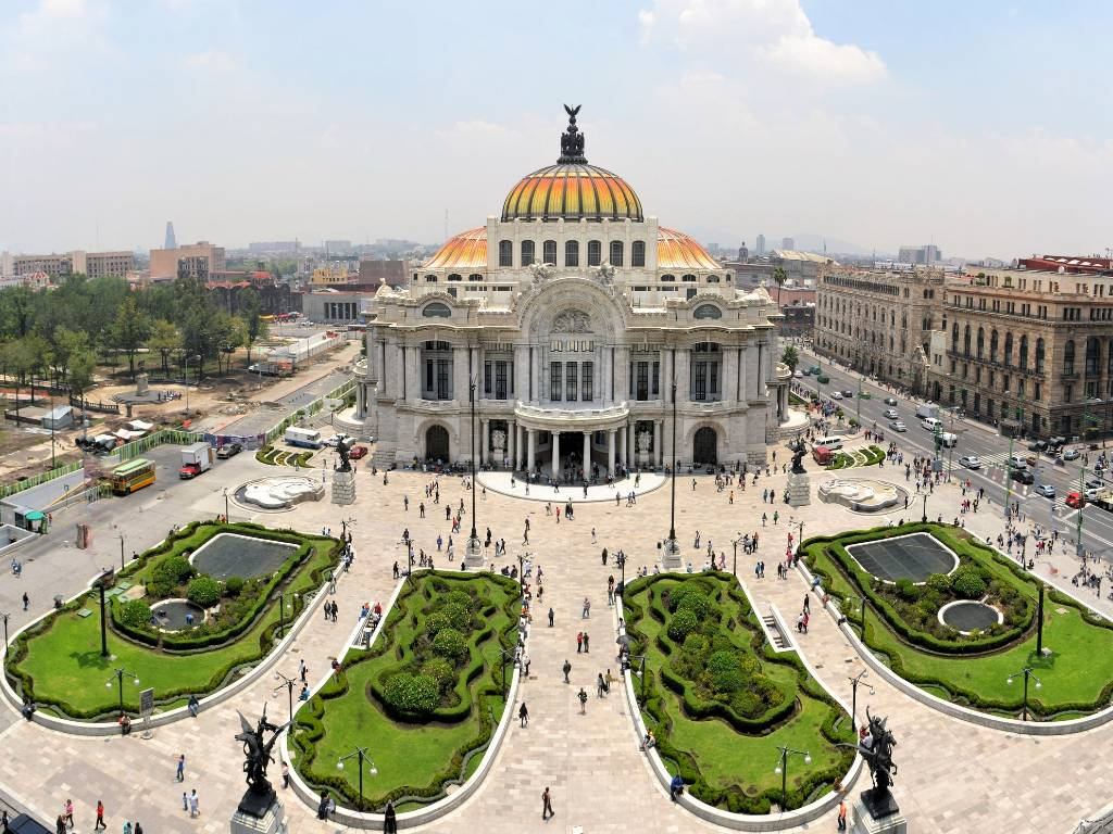 Mexico City from above.
