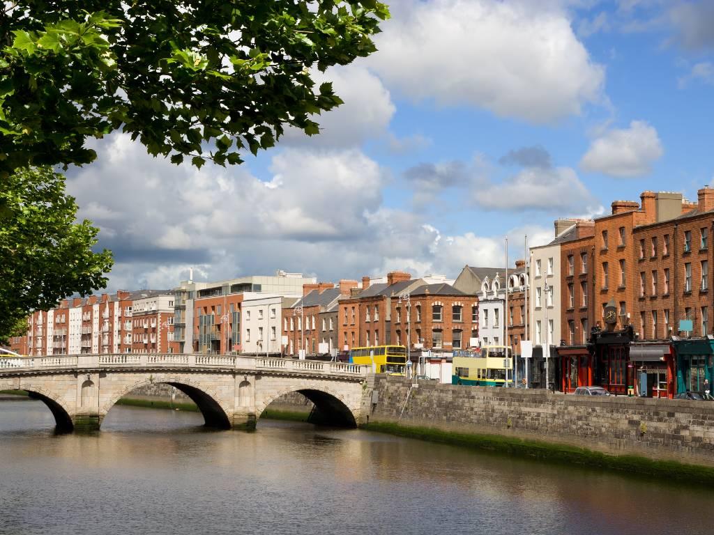Dublin and River Liffey