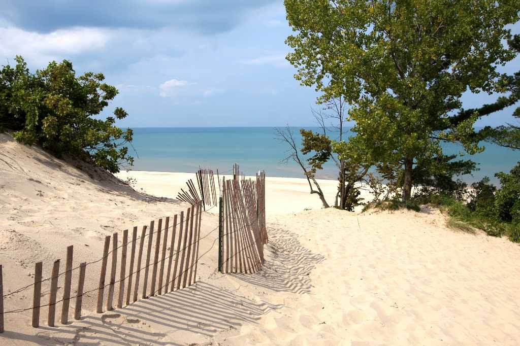 Indiana Dunes State Park.