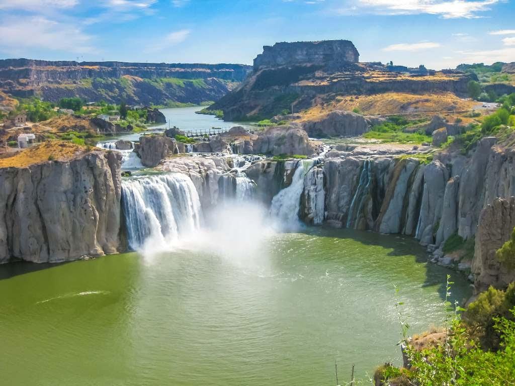 Shoshone Falls.
