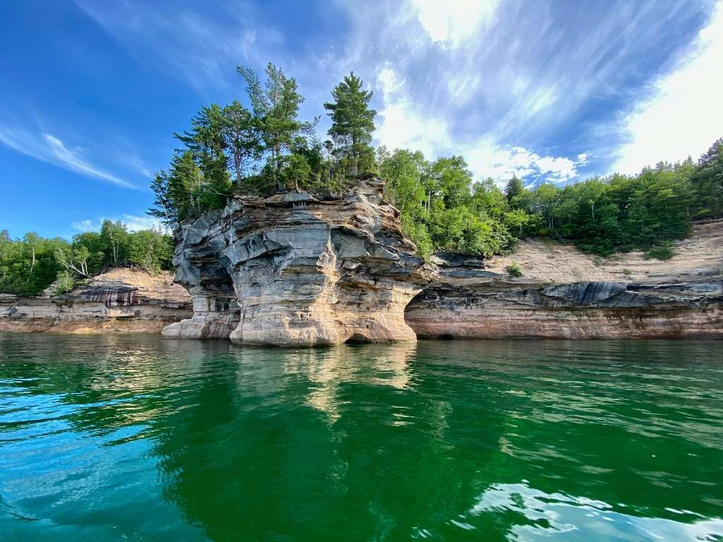 Pictured Rocks national seashore.