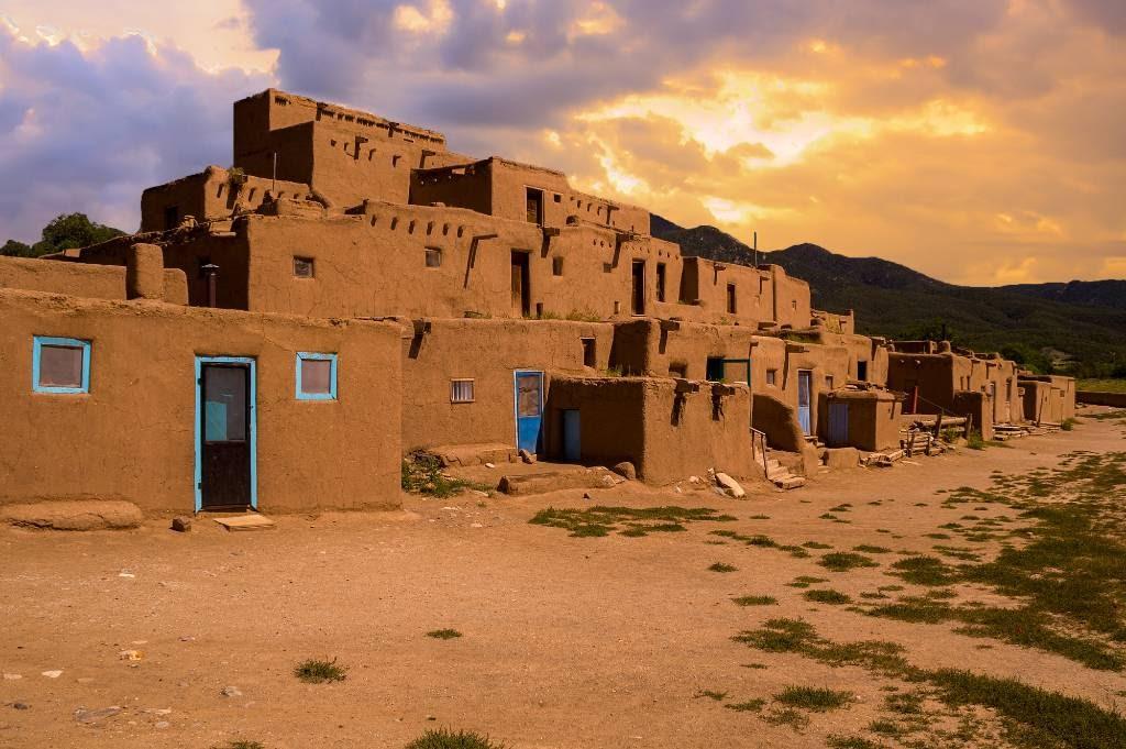 Taos Pueblo.