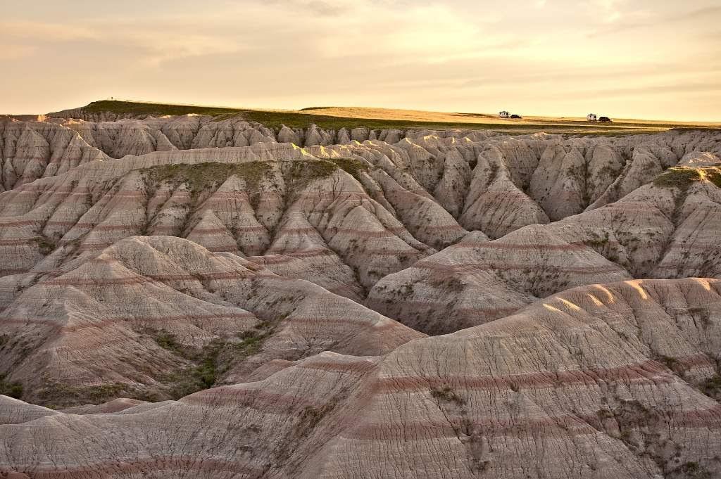 South Dakota Badlands.