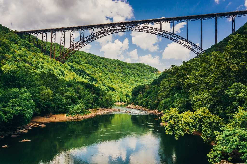 New River Gorge National River.