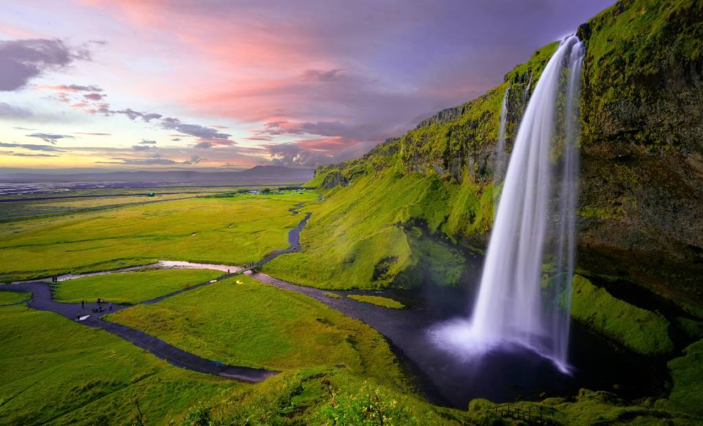 Seljalandfoss Iceland.