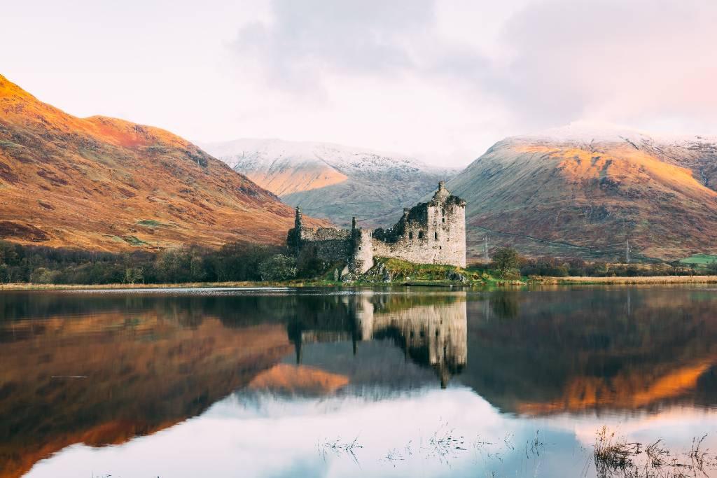 castle in Scotland.
