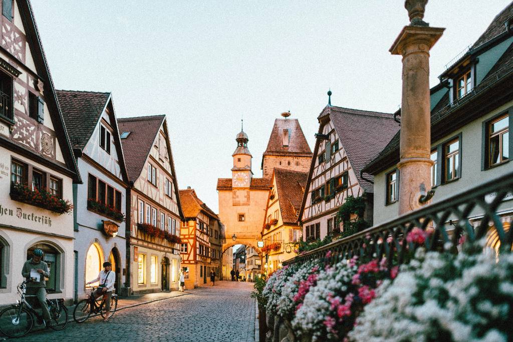 Rothenburg ob de Tober, Germany.