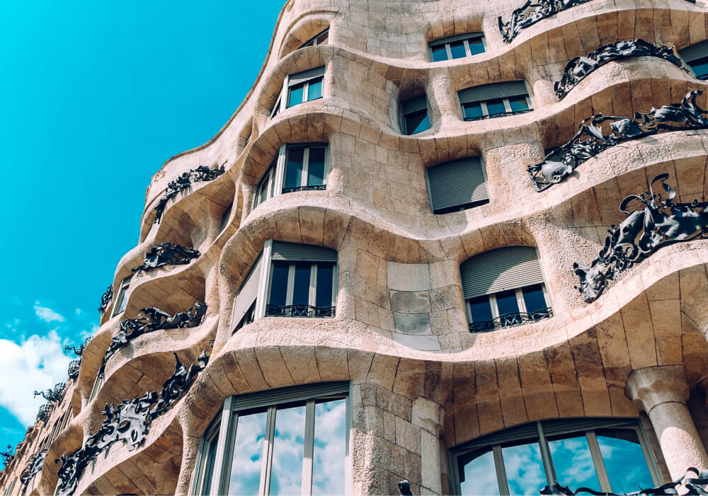 Photo of super cool building in Spain